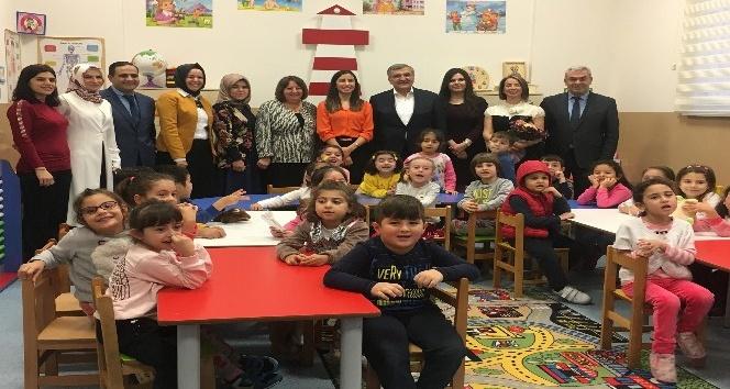 """""""Bir Dokunuş Bin Hayat"""" projesi kapsamında anaokulu açıldı"""