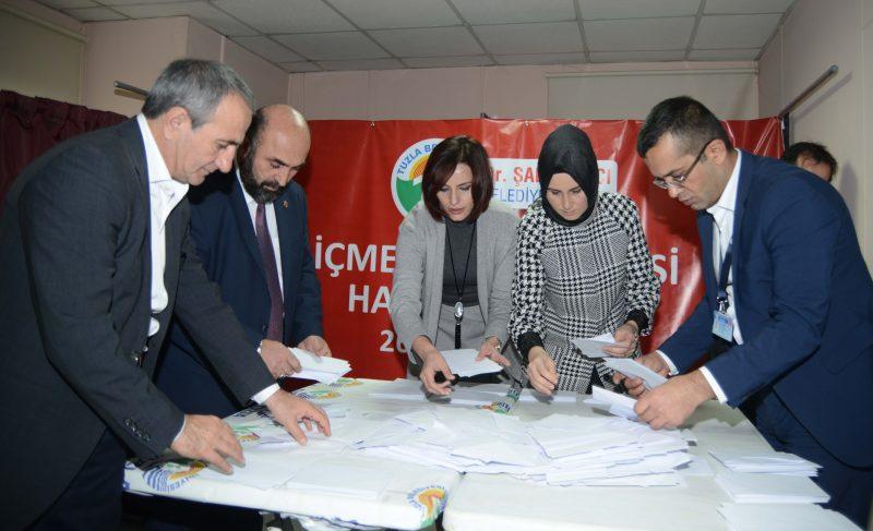 Tuzla'da 2. halk oylaması İçmeler Mahallesi'nde gerçekleşti