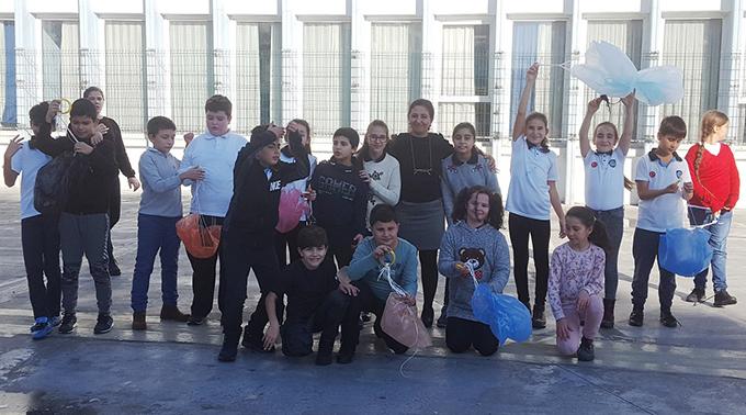 Ahmet Şimşek öğrencileri Fen Bilimleri dersini etkinliğe dönüştürdü