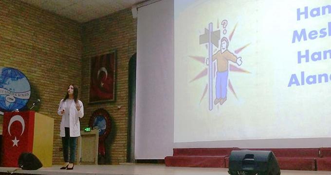 Rehber Öğretmen Didem Kaya, Meslek ve alan seçiminin önemini vurguladı