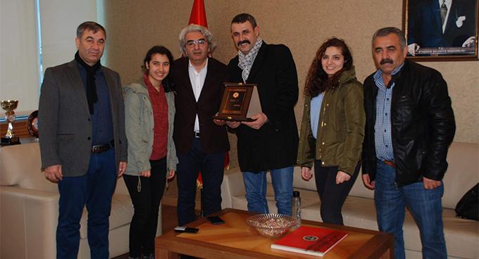 Tokat Zile Şeyh Köyü Köyü Eğitim ve Kültür Derneği'nden Kalender Özdemir'e ziyaret