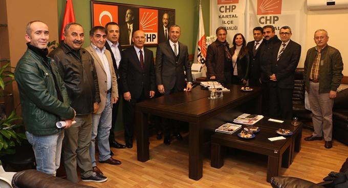 Başkan Altınok Öz, Muammer Çelebi'yi ziyaret etti