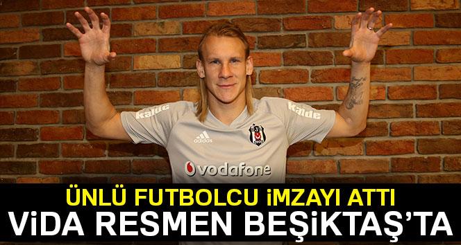 Beşiktaş, Domagoj Vida ile 4.5 yıllık sözleşme imzaladı