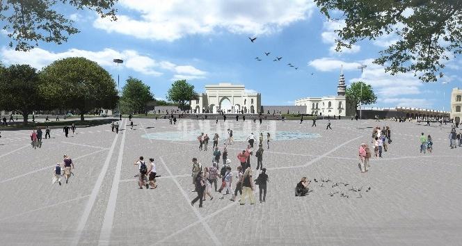 Beyazıt Meydanı ve çevresini yeniden düzenliyor