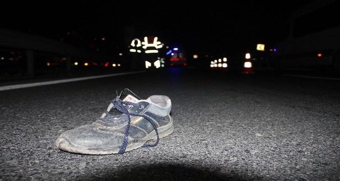 Yolun karşısına geçmeye çalışan yaya hayatını kaybetti