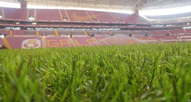Galatasaray, 27 Ocak'ta Osmanlıspor maçında hibrit çimde mücadele edecek