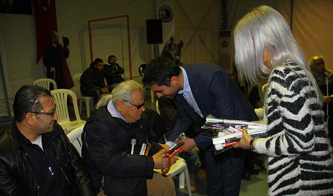 Kartal'da Beyaz Baston Görme Engelliler Haftası için etkinlik düzenlendi