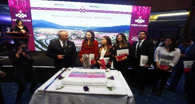 Maltepe Üniversitesi 20'inci yaşını 1997 doğumlu öğrencileri ile kutladı