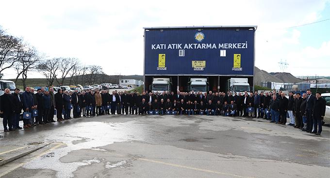 Sultanbeyli Katı Atık Aktarma Merkezi'nde program düzenlendi