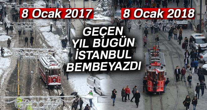 İstanbul'da şimdi soğuk yerine sıcak hava hakim