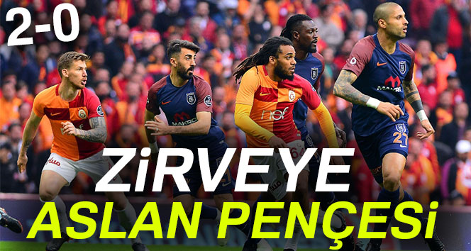 Galatasaray: 2 – Medipol Başakşehir: 0