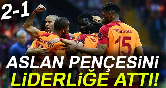 Galatasaray Trabzonspor'u 2-1 mağlup etti