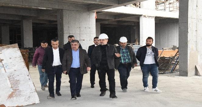 """Başkan Alatepe: """"1 Aralık'a kadar tüm inşaatlarımız bitecek"""""""