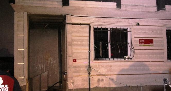 5 katlı bir binada yangın çıktı