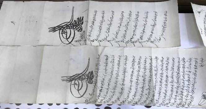 Dîvân-ı Hümâyun beratlarının olduğu bin 512 parça tarihi eser ele geçirildi