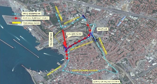 Kadıköy Tıbbiye Caddesi üzerinde bulunan köprü yıkılarak yenilenecek