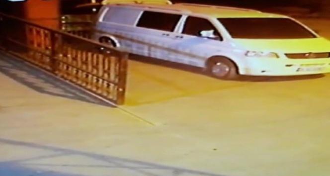 Kartal'da 5 dakikada minibüs soygunu