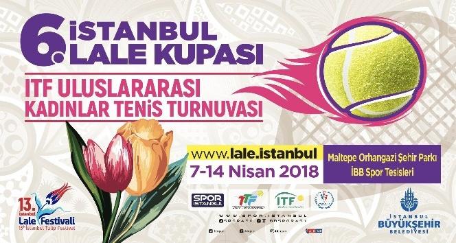 İBB uluslararası Lale Kupası Tenis Turnuvası düzenliyor