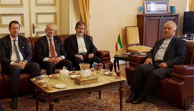 Saadet İstanbul'dan İran Başkonsolosluğu'na ziyaret