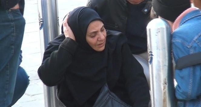 Tansiyonu düşen yaşlı kadın, kafasını demir dubaya çarparak yaralandı
