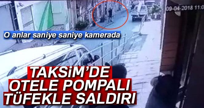 Otele pompalı tüfekle saldıran şahıs kayıplara karıştı