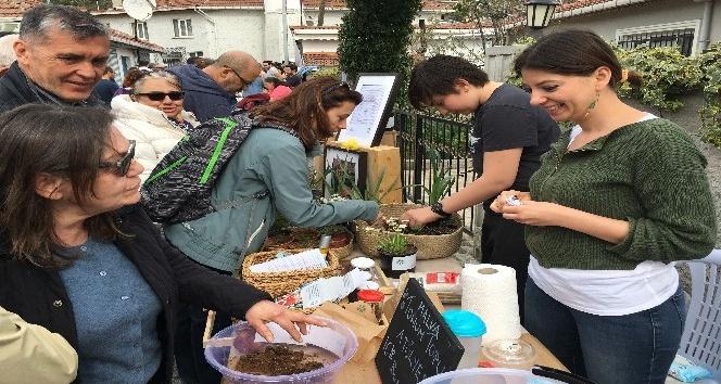 Üsküdar'da 'İstanbul Tohum Takas Şenliği'