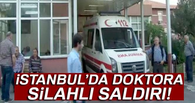 Çocuk doktoruna silahlı saldırı