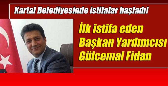 Kartal Belediyesinde istifalar başladı! İlk isim Gülcemal Fidan