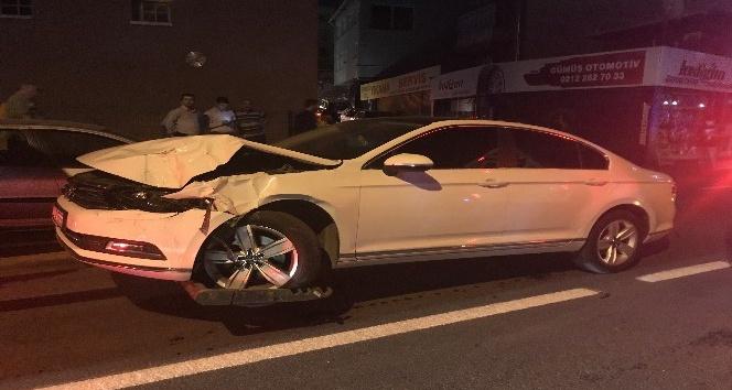 Aracıyla takla atan sürücü aracını bırakıp kayıplara karıştı