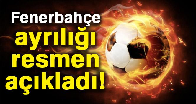 Fenerbahçe, ayrılığı resmen açıkladı!