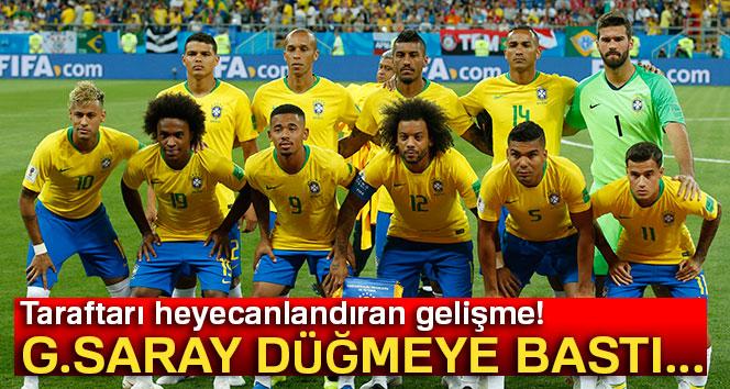 Galatasaray düğmeye bastı