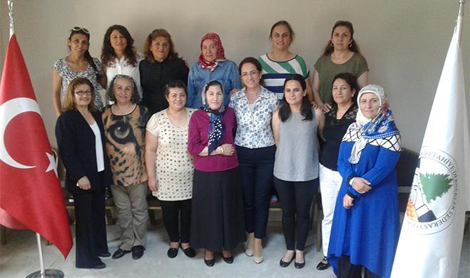 EREDEF, Kadın Kolları Yönetim Üyelerini belirledi