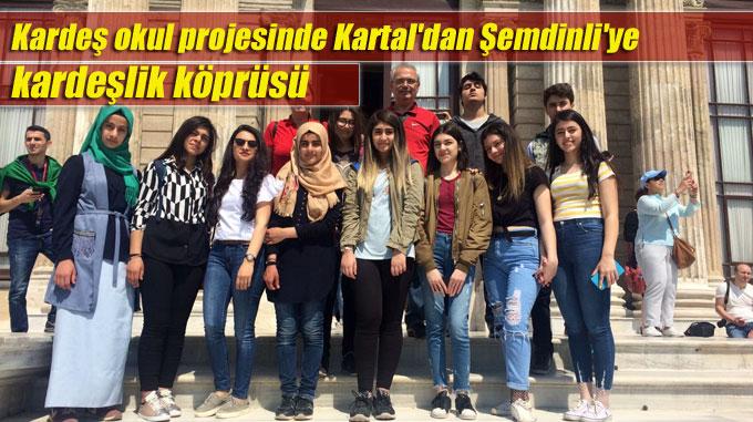 Kardeş okul projesinde Kartal'dan Şemdinli'ye kardeşlik köprüsü