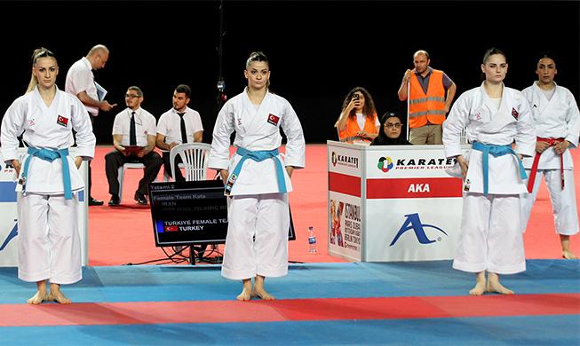 Milli karateciler İstanbul'da ikinci gün 3 final yakaladı