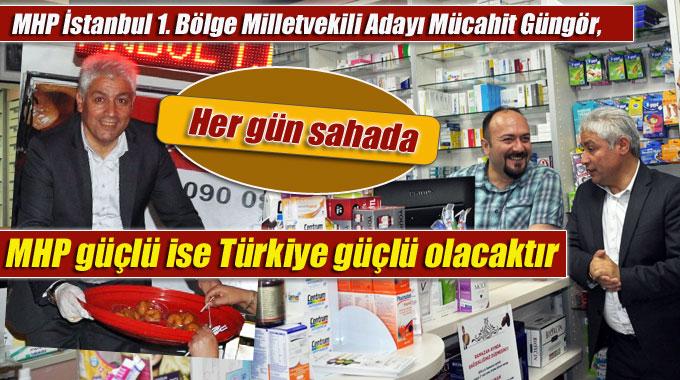 Güngör, MHP güçlü ise Türkiye güçlü olacaktır
