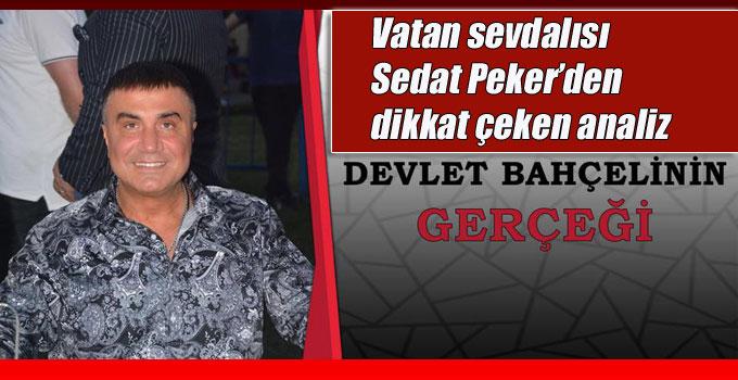 Sedat Peker'den dikkat çeken millet ittifakı analizi!