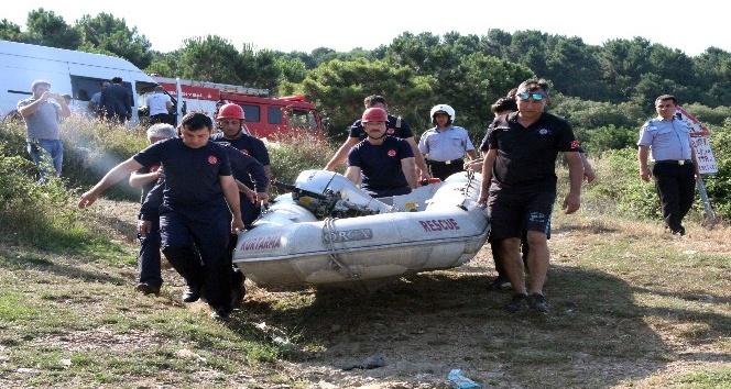 Alibeyköy Barajı'nda 1 kişi boğularak can verdi