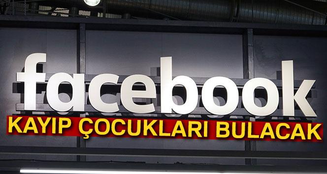 Facebook kayıp çocuklar bulacak