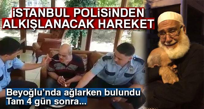 İstanbul polisinden alkışlanacak hareket