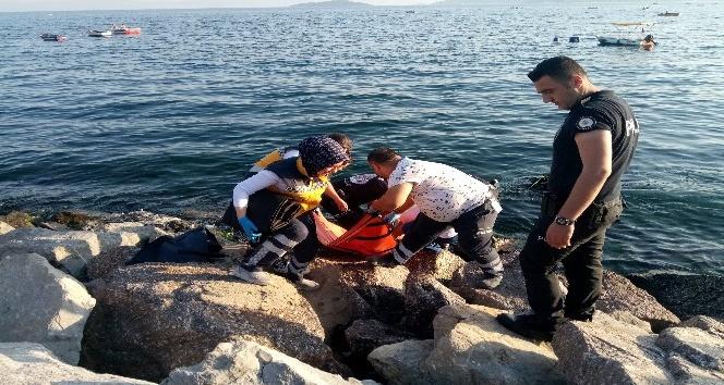 Kartal'da denizde kaybolan genç, dalgıçlar tarafından bulundu