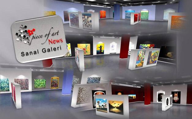 Sanat PR'ında İnteraktif sunum Sanal Galeri