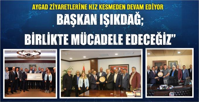 Anadolu Yakası Gazetecilerinin Maltepe ziyaretleri