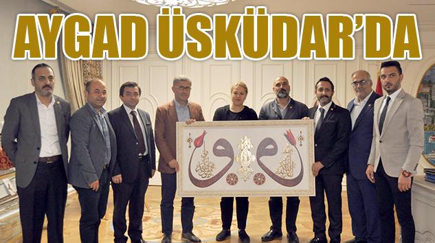 Anadolu Yakası Gazeteciler Cemiyetinden (AYGAD) Üsküdar Belediyesine ziyaret