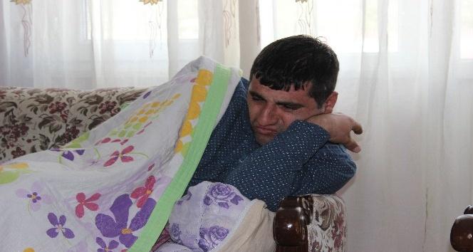 Evde 4 engelliyle yaşam süren anne hayata tutunmaya çalışıyor