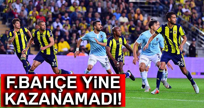Fenerbahçe yine kazanamadı! Başakşehirspor'la 0-0 berabere kaldı