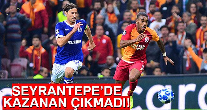UEFA Şampiyonlar Ligi: Galatasaray: 0 – Schalke 04: 0