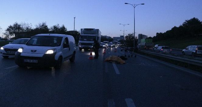 Haramidere- TEM bağlantı yolunda kaza