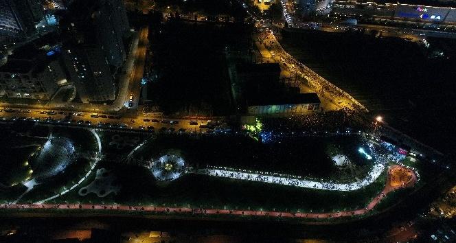 Cumhuriyetin 95. yılında, dev şehir parkı Maltepe'de açıldı