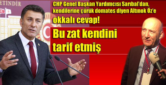 Orhan Sarıbal, Altınok Öz'e okkalı cevap!