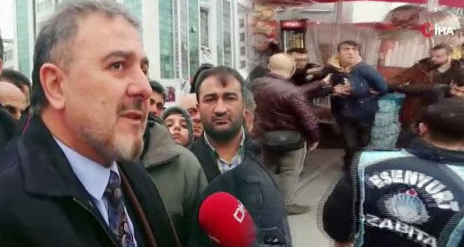 Esenyurt Belediye Başkanı Ali Murat Alatepe'ye saldırı girişimi